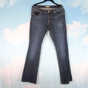 CAbi #120 Galaxy Wash Curvy Slim Boot Jeans - 4